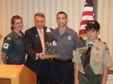 Jersey Shore Council Boy Scouts Honors Dr. Salmon
